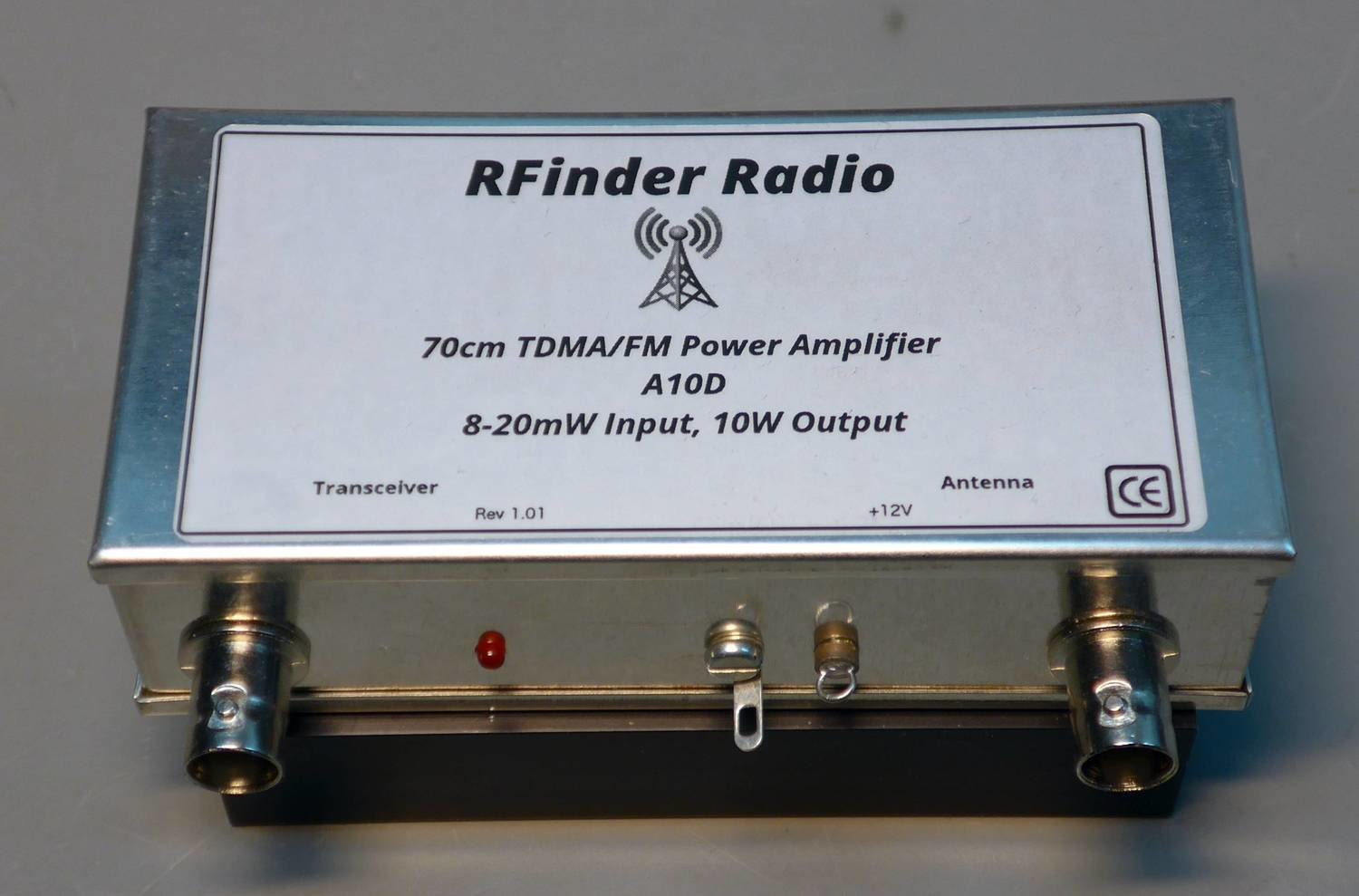 A10D 70cm TDMA/FM Amp    8-20mW in, 10W out!